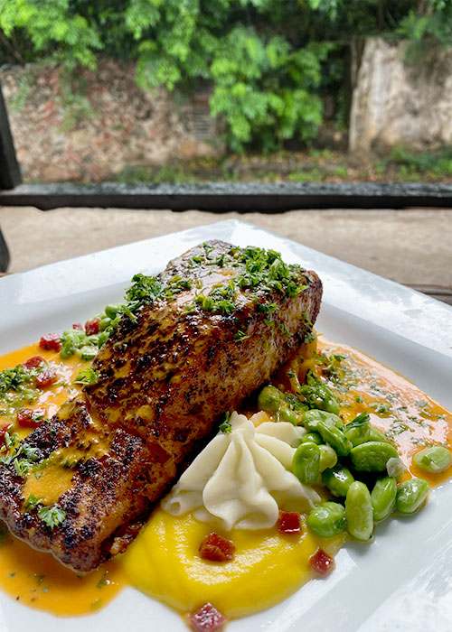 Seared Blackened Salmon