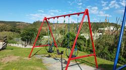 Steel - Triple swing set