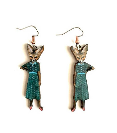 Fox Lady Earrings