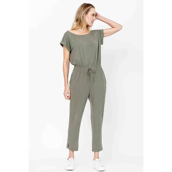 Bamboo Romper With Pockets