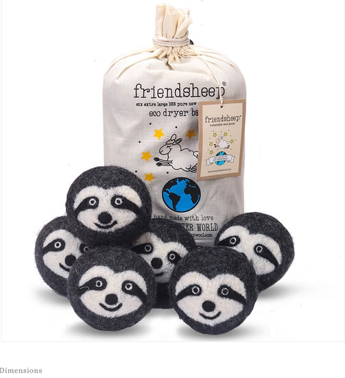 Sloth Squad Eco Dryer Balls