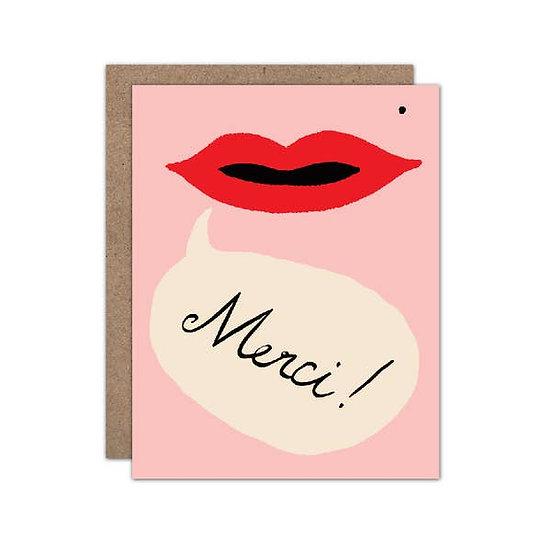 Merci - Thank You Card