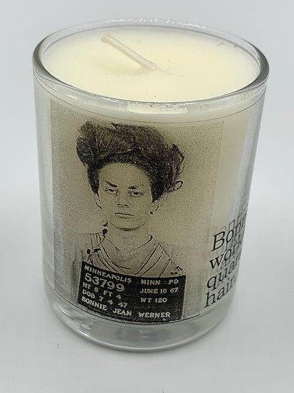 Big House Candles, Bonnie Was Working Her Quarantine Hair