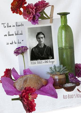 Frida Khalo Kitchen Towel
