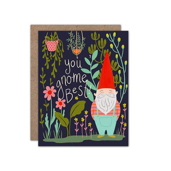 You Gno-Me Best! Card