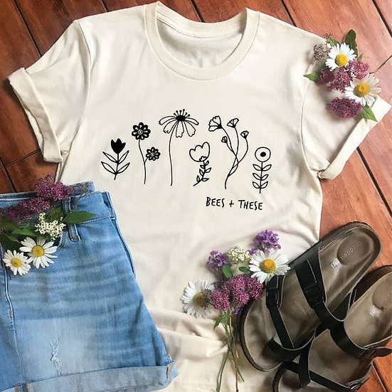 Bees + These Adult Tee