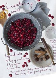 Cranberry Sauce Kitchen Towel