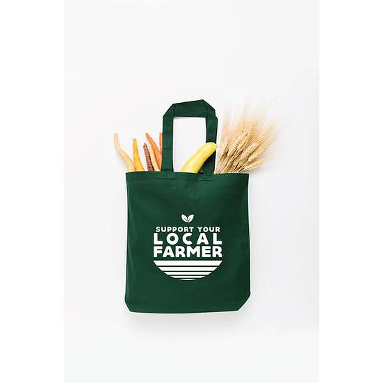 Support Your Local Farmer Tote Bag - Small