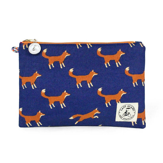 Miss Zip Wristlet:  Fox