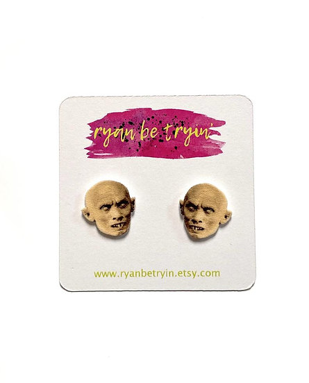 Nosferatu Original Monsters Stud Earrings