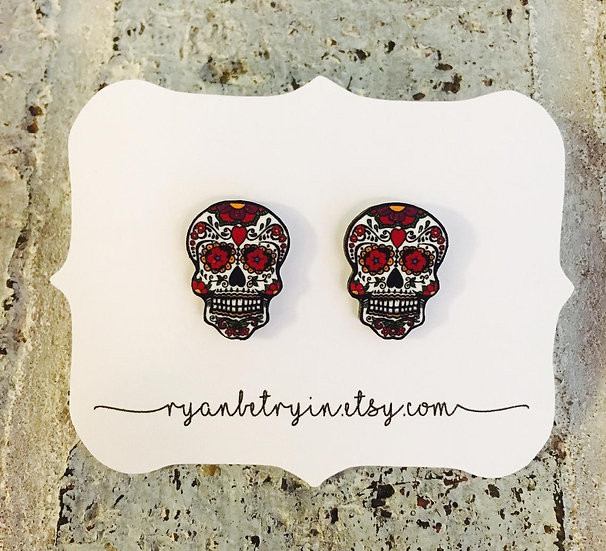 Sugar Skulls Earrings