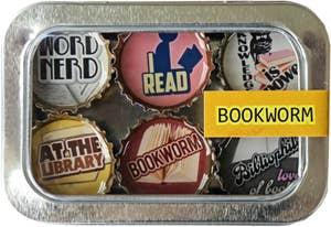 Bookworm Magnet Set