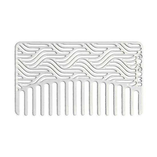 Powder Waves Go-Comb | Metal Wallet-Sized Comb
