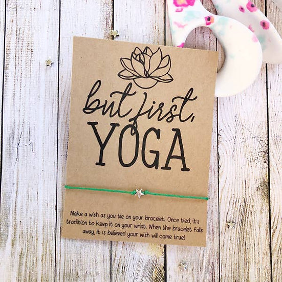 But First Yoga Wishlet