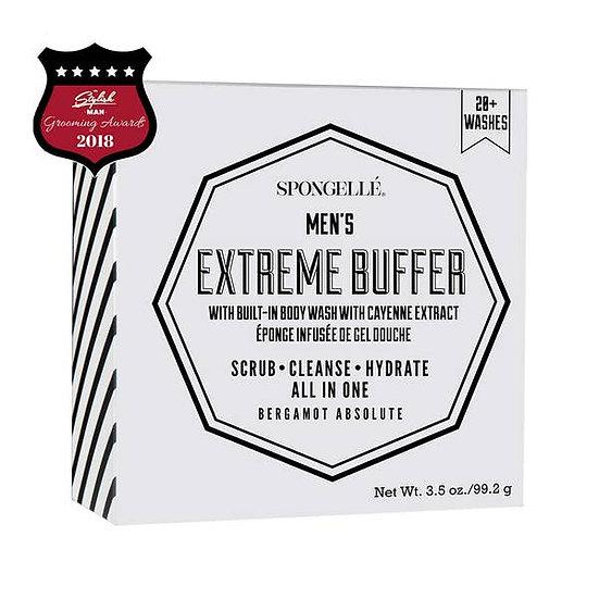 Spongelle-MEN'S- Extreme Buffer- Bergamont Absolute