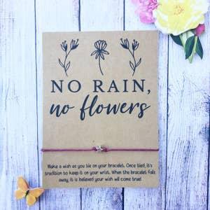 No Rain No Flowers Wishlet