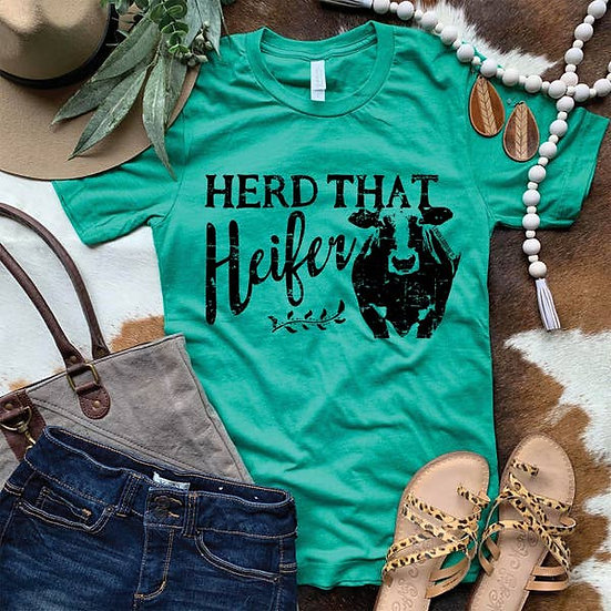 Herd That Heifer Graphic T-Shirt