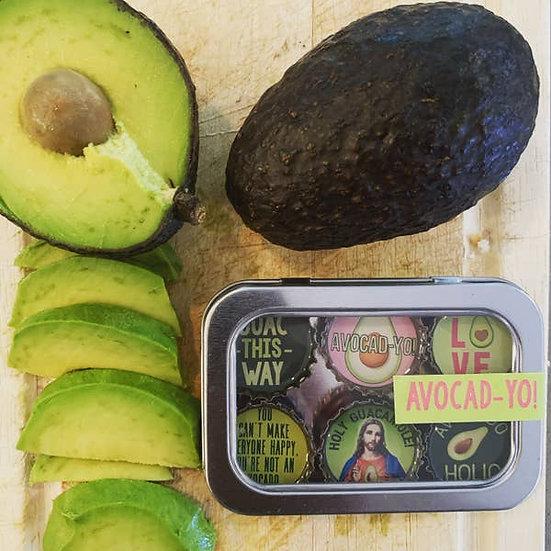 Avocado Magnets - Set of 6