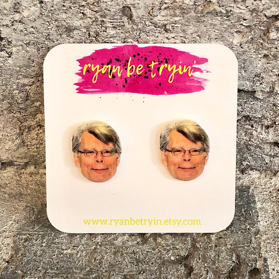 Stephen King Earrings