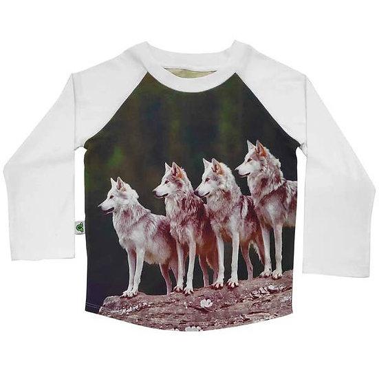 Raglan Top - Wolf Pack