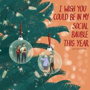 Covid Christmas Card