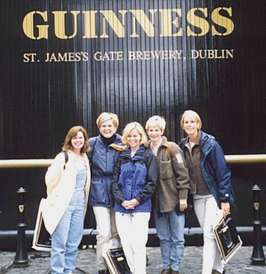 Guinness with the Girls