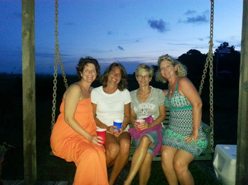 Beach moms!