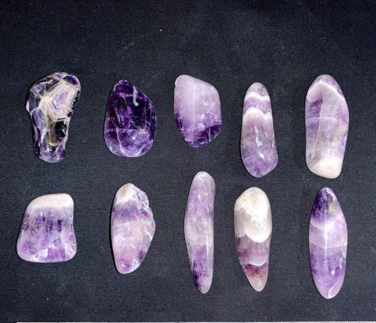Nos pierres roulées et polies