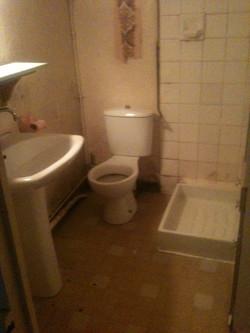 salle de bain avant les travaux