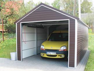 Réalisation d'un garage extérieur