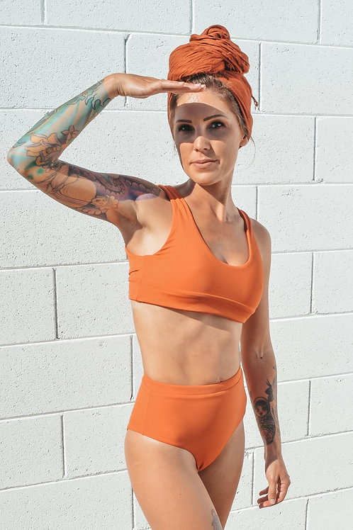 Kelsey Top - Sunstone