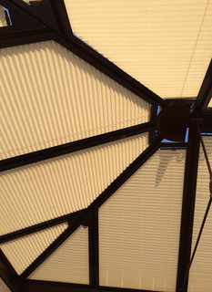 Conservatory Roof Blinds with no holes
