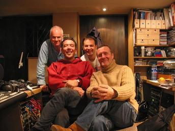 Hamish Stuart, Ralph Salmins, Steve Pearce