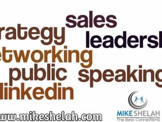 Leadership, Sales Strategy, Networking, LinkedIn, Public Speaking