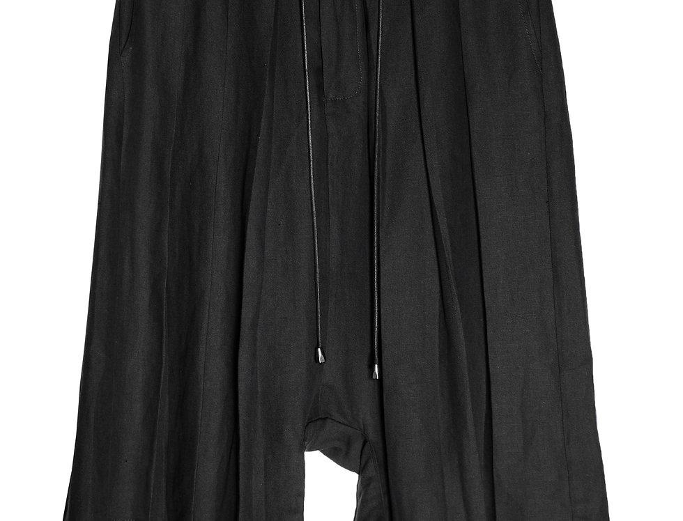 Pleated Shorts