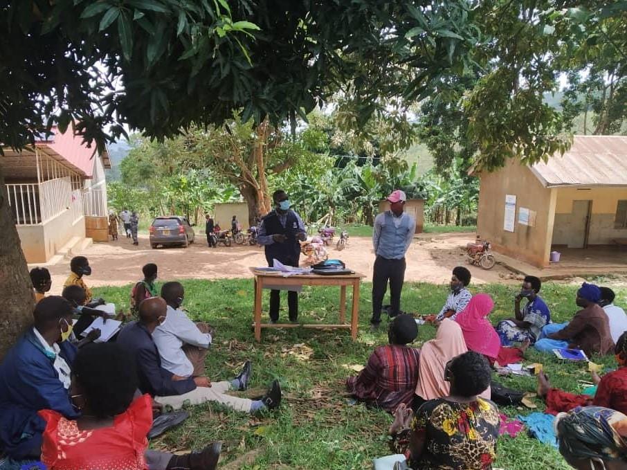COVID-19 awareness-raising, Uganda