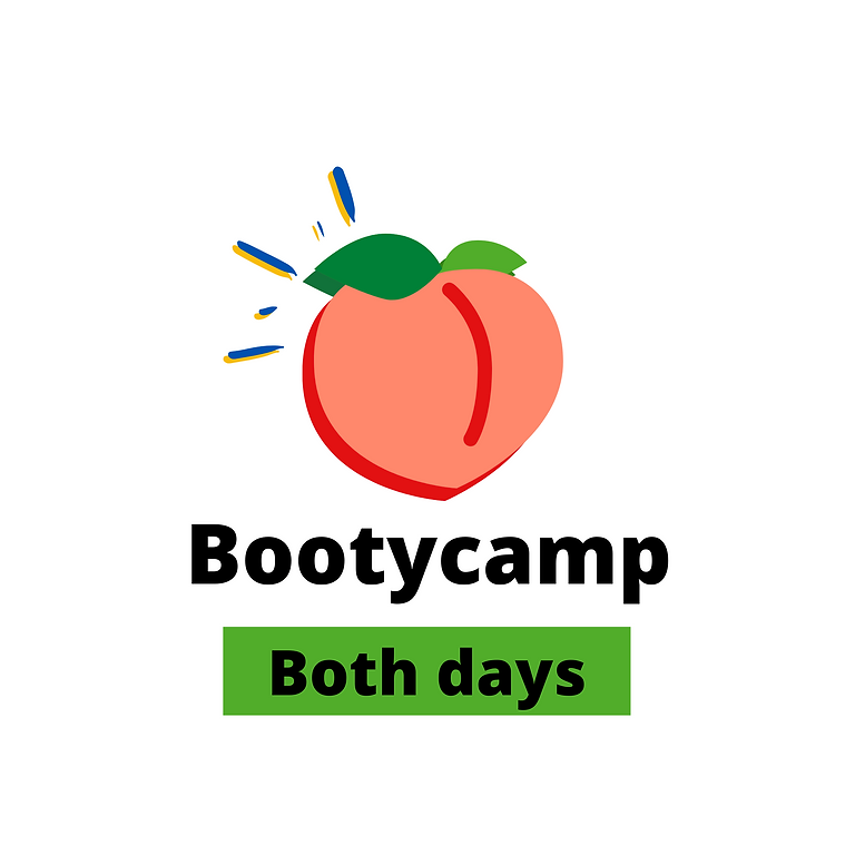 Bootycamp 01 and 08 august: Both days!