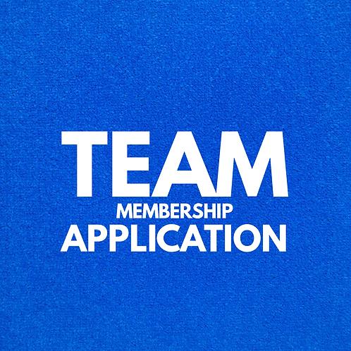 Team Membership Application