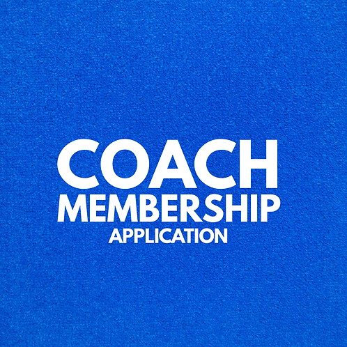 Coach Membership Application