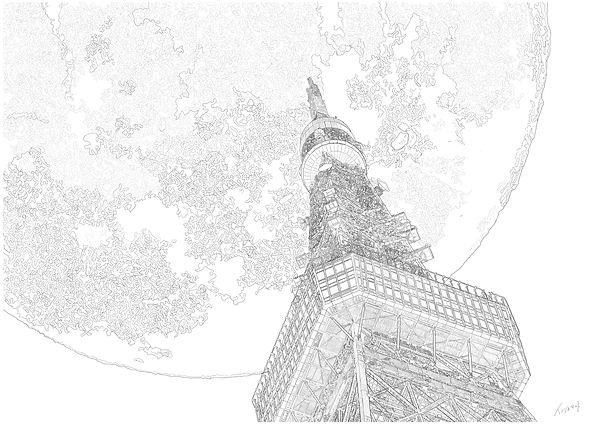 下から東京タワー.jpg
