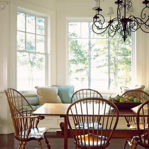 Classic Bowback arm chair and side chair