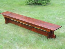 9ft. bench
