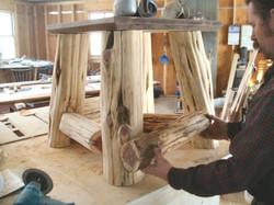 Large table pedestal
