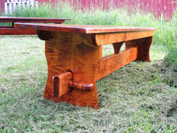 Beautiful Tiger Maple end
