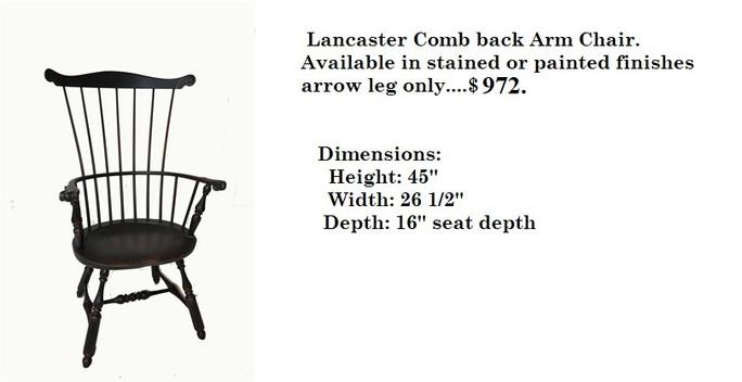 Lancaster Arm Chair