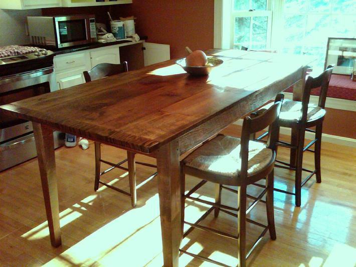 Kitchen work table # 8 (rustic Pine)