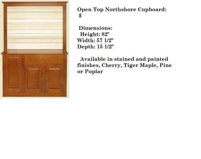 Open Top Northshore Cupboard