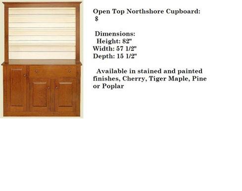 Open Top Northshore Cupboard