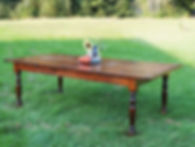Reclaimed wood Farm Tables