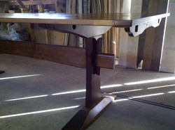 The classic style trestle table